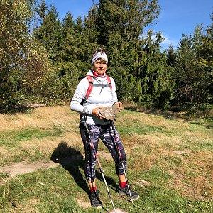 Radka Dubská na vrcholu Girová (3.10.2021 13:14)