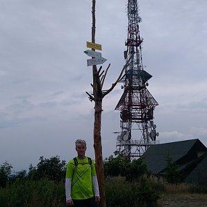 Jaroslav Macura na vrcholu Skrzyczne (25.7.2021 10:14)