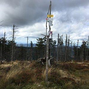 Jarek na vrcholu Malinowska Skala (29.9.2019 12:30)
