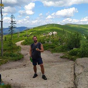Petr Zajac na vrcholu Malinowska Skala (30.6.2020 12:36)