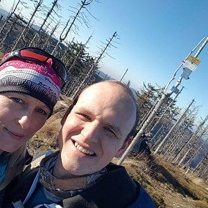 Michaela Karásková na vrcholu Malinowska Skala (8.11.2020 13:33)