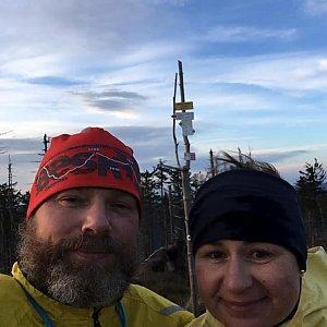Macinka na vrcholu Malinowska Skala (6.12.2020 15:06)