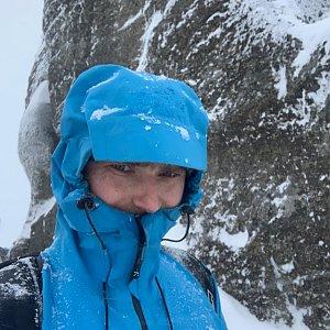 Wojtik na vrcholu Malinowska Skala (16.1.2021 11:52)