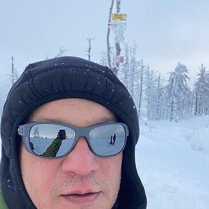 Pery na vrcholu Malinowska Skala (17.1.2021 12:57)