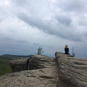 Kačička na vrcholu Malinowska Skala (5.6.2021 12:00)