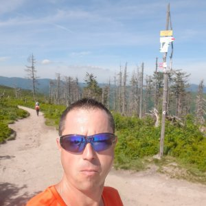 Patrik Valas na vrcholu Malinowska Skala (15.6.2021 9:39)