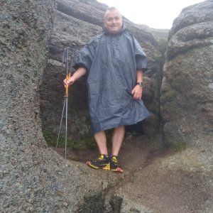 Michael na vrcholu Malinowska Skala (26.8.2021 12:19)