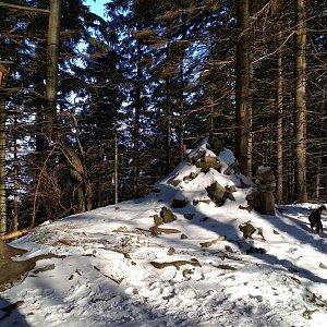 Win Dous na vrcholu Smrček (2.12.2020 11:06)