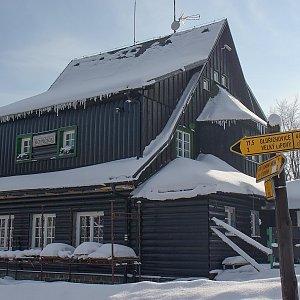 Czylok Pavel na vrcholu Ropička (3.3.2018 15:11)
