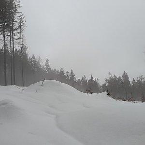 Milan Meravy na vrcholu Čupel (19.4.2021 11:54)