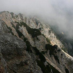 Bouřka na vrcholu Brezov vrh (3.9.2021 10:56)
