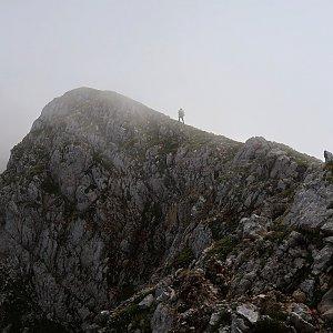 Bouřka na vrcholu Vajnež - SZ (3.9.2021 12:07)