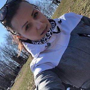 Barbora Pelcová na vrcholu Prašivá (2.4.2020 10:35)