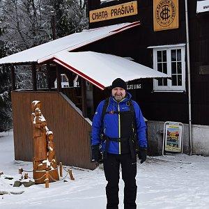 Vladimír na vrcholu Prašivá (18.3.2018 16:33)