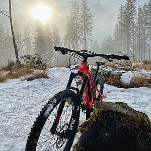 Biker.P na vrcholu Prašivá (5.2.2021 14:34)