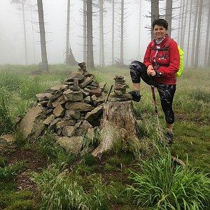 Radka Dubská na vrcholu Prašivá (26.6.2021 10:14)