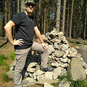 Aleš Sýkora na vrcholu Prašivá (2.6.2019 15:31)
