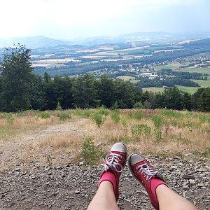 Su Mischelle na vrcholu Prašivá (19.7.2019 14:46)