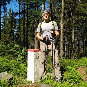 Aleš Sýkora na vrcholu Muřinkový vrch (6.5.2018 15:03)