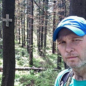 David Dudzik na vrcholu Muřinkový vrch (4.6.2020 13:16)