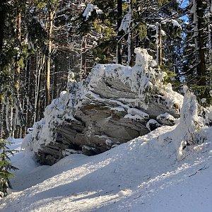 Martaska na vrcholu Muřinkový vrch (20.2.2021 12:45)