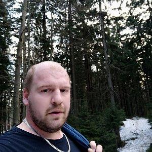 Petr Petrik na vrcholu Muřinkový vrch (3.3.2021 17:07)