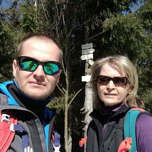 ZetBé na vrcholu Tanečnice - sedlo (31.3.2019 11:32)