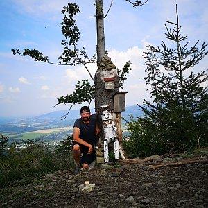 Dajik90 na vrcholu Ondřejník - Vrchol (28.8.2019 16:07)