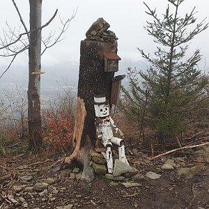 Petr Pepe Peloušek na vrcholu Ondřejník - Vrchol (22.12.2019 13:03)