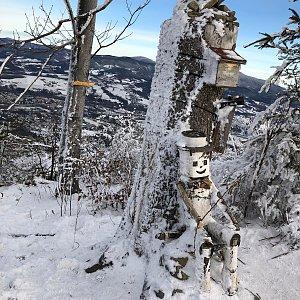 Jiří Šrámek na vrcholu Ondřejník - Vrchol (30.12.2019 14:09)