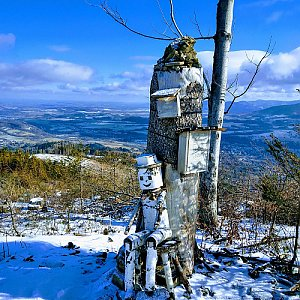 pa3k.soyka na vrcholu Ondřejník - Vrchol (13.2.2020 10:19)