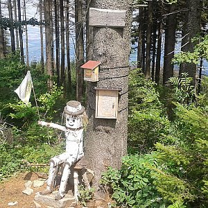 ŠenovKK na vrcholu Ondřejník - Vrchol (22.7.2018 13:29)