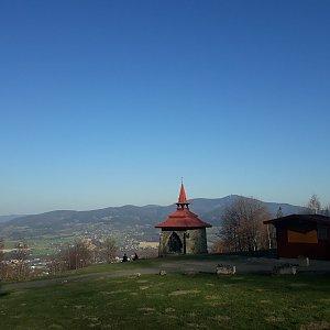 Veronika Hronková na vrcholu Ondřejník - Vrchol (8.4.2020 17:36)