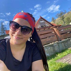 Nikalasova na vrcholu Ondřejník - Vrchol (11.9.2020 11:15)