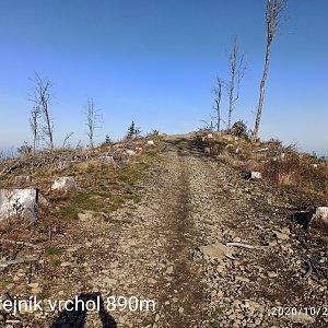 Miroslav Varga na vrcholu Ondřejník - Vrchol (20.10.2020 10:34)