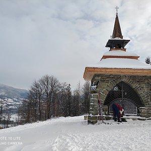 Zuzana Sue Freitagova na vrcholu Ondřejník - Vrchol (15.1.2021 14:00)