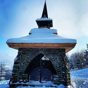 Nikol Černínová na vrcholu Ondřejník - Vrchol (17.1.2021 11:17)