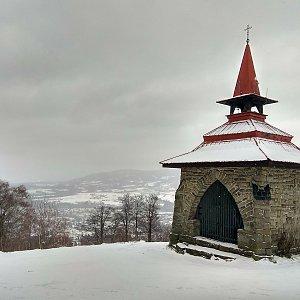 Radůza na vrcholu Ondřejník - Vrchol (2.1.2019 11:03)