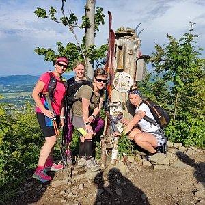 Kateřina Turčeková na vrcholu Ondřejník - Vrchol (11.6.2021 18:00)