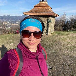 Nikalasova na vrcholu Ondřejník - Vrchol (28.4.2021 17:47)