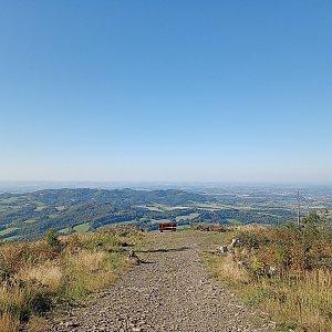 Milan Meravy na vrcholu Ondřejník - Vrchol (9.9.2021 15:52)