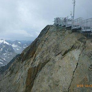 Pepino na vrcholu Hinterer Brunnenkogel (10.7.2018)