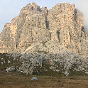 Ivetast na vrcholu Forcella di Giau (27.9.2021 16:36)