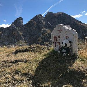 Ivetast na vrcholu Punta di Zonia (28.9.2021 13:20)