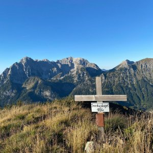 Martin Malý na vrcholu Sonntagskogel (25.9.2021 17:22)