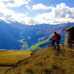 Martin Malý na vrcholu Lämmerbichl (2.10.2021 14:00)