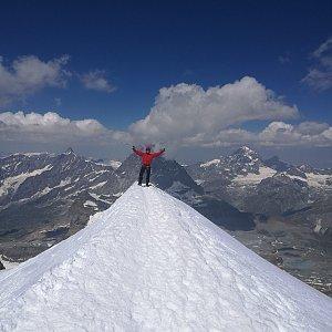 martenzites na vrcholu Breithorn (28.7.2020 11:51)