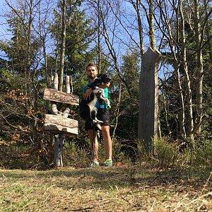 Jan Janiš na vrcholu Ropice (22.4.2018 10:03)