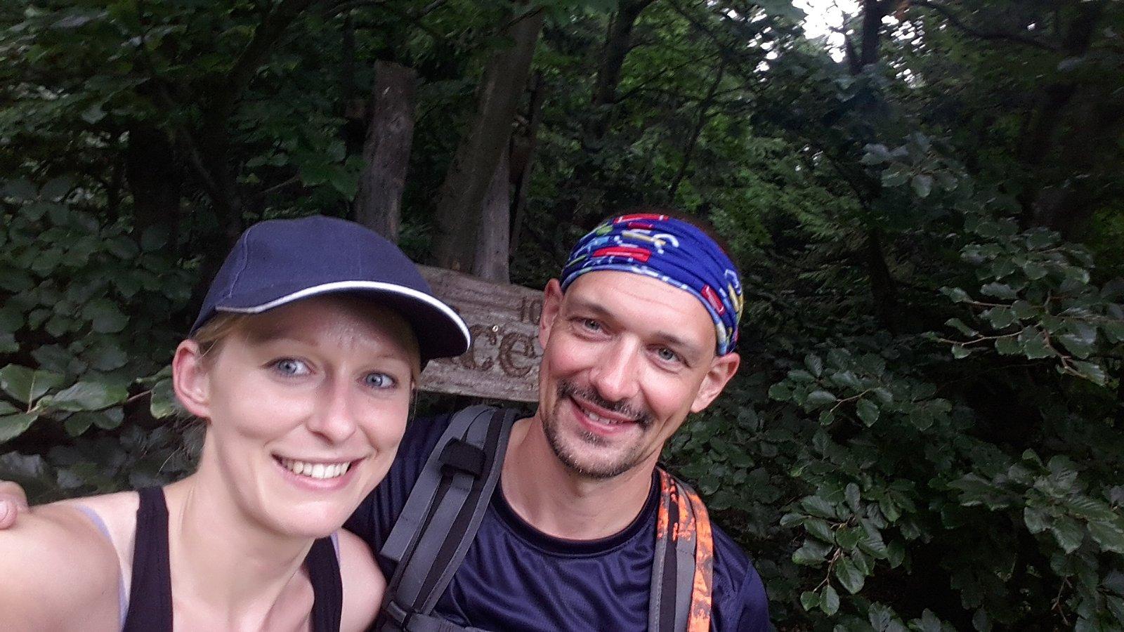 Michaela Karásková na vrcholu Ropice (22.7.2018 10:14)