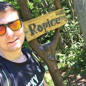 Bronislav na vrcholu Ropice (1.8.2020 15:45)